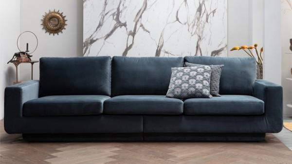 Sofa Fame 3-Sitzer - Samt Teal