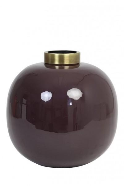 Vase Chow - Ø26x26 cm - Lila
