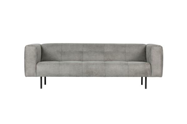 Sofa Skin 2,5 Sitzer 213 cm - Stoff Hellgrau