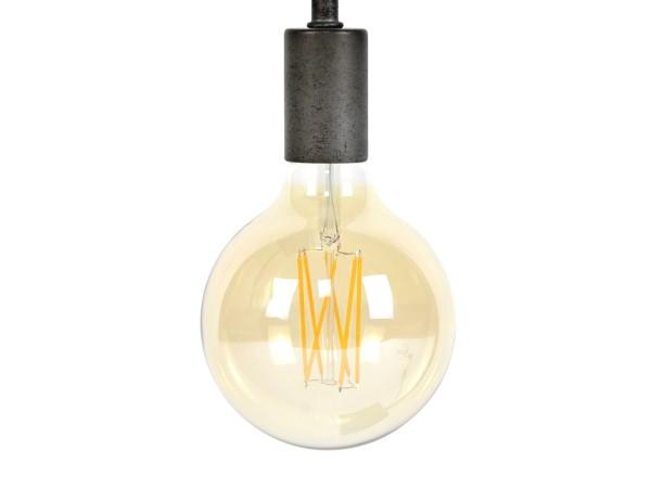 Glühbirne LED 6 Watt Filament Globus 9,5cm E27