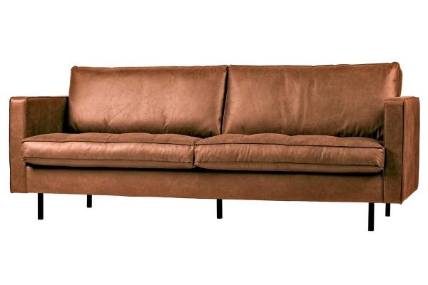 "Sofa Rodeo ""Classic"" 2,5-Sitzer 230 cm - Leder Cognac"