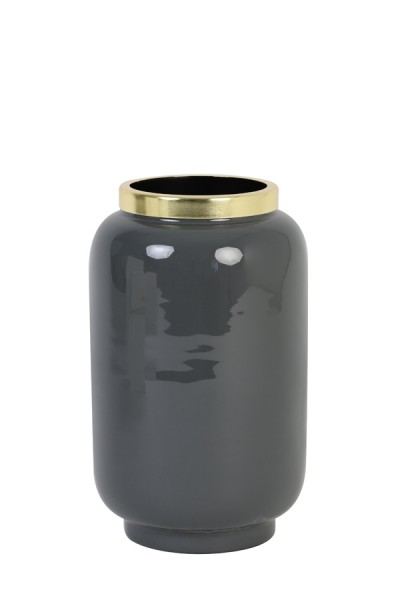 Vase Chow - Ø18x30 cm - Blau