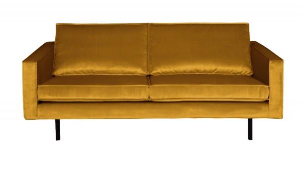 Sofa Rodeo 2,5-Sitzer - Samt Ochre