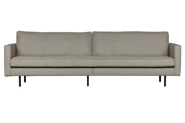 Sofa Rodeo 3-Sitzer 275 cm - 2er Optik - Stoff Nougat