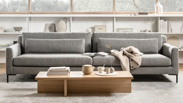 Sofa Hang Out 4 Sitzer - Bouclé Light Grey