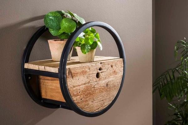 Wandregal Barrel - 40 cm