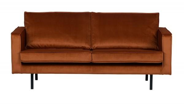 Sofa Rodeo 2,5-Sitzer - Samt Rust