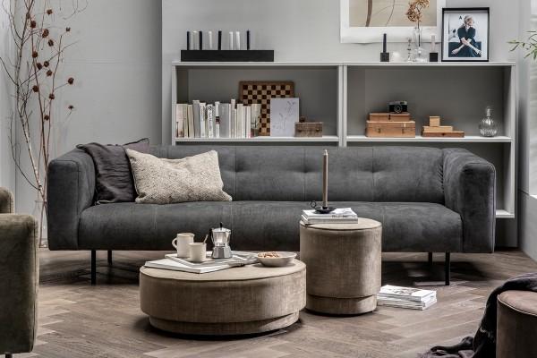 Sofa Skin 4 Sitzer 250 cm - Stoff Anthrazit