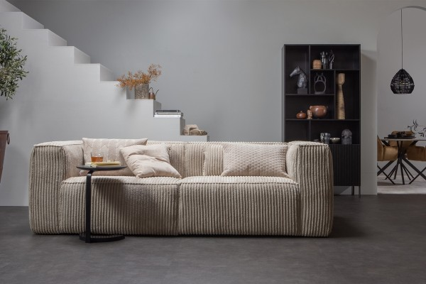 Sofa Bean 3,5-Sitzer- Ribcord Travertin