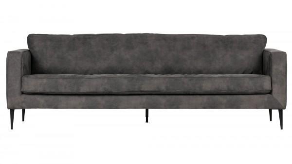 Sofa Crew 3-Sitzer - Stoff Anthracite