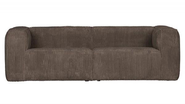 Sofa Bean 3,5-Sitzer - Ribcord Mud