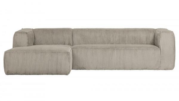 Longchair-Sofa Bean Links - Ribcord Natural