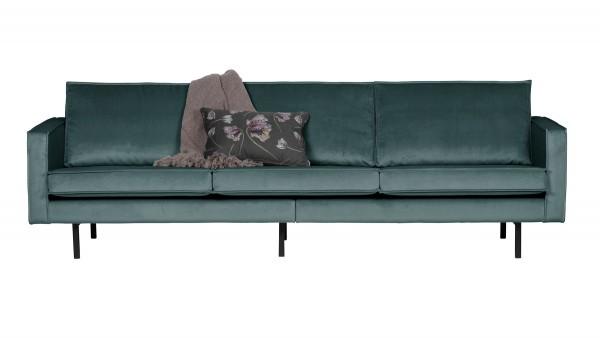 Sofa Rodeo 3-Sitzer - Samt Teal