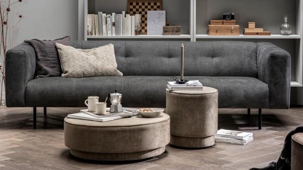 Sofa Skin 4 Sitzer - Stoff Anthracite