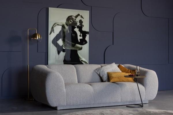 Sofa Woolly 3-Sitzer - Bouclé Naturel