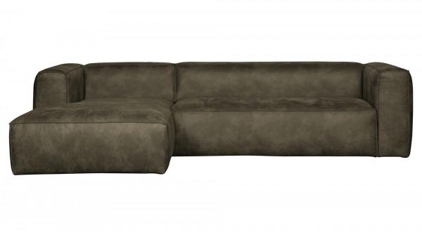Longchair-Sofa Bean Links - Leder Army