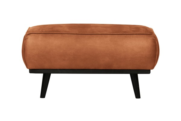 Hocker Statement - Leder Cognac