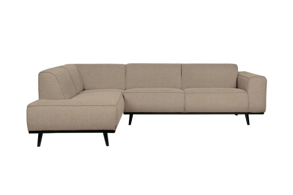 Ecksofa Statement Links - Bouclé Beige