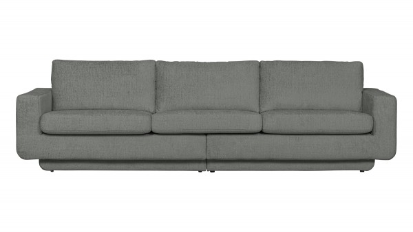 Sofa Fame 3-Sitzer - Structure Samt Thyme