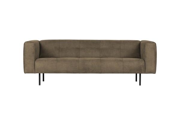 Sofa Skin 2,5 Sitzer 213 cm - Stoff Olivgrün