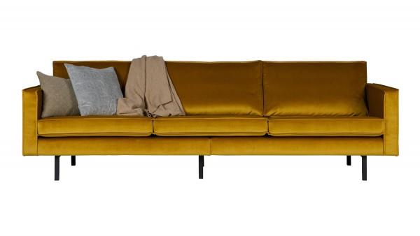 Sofa Rodeo 3-Sitzer - Samt Ochre
