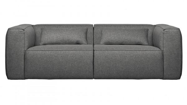 Sofa Bean 3,5-Sitzer - Stoff Mid Grey