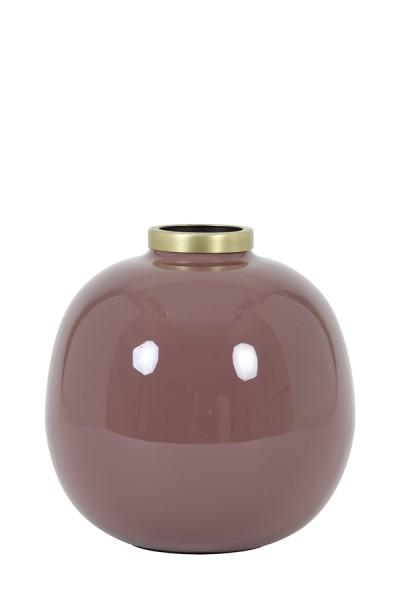 Vase Chow - Ø22x22 cm - Rosa