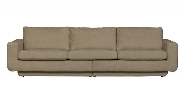 Sofa Fame 3-Sitzer - Structure Samt Oyster