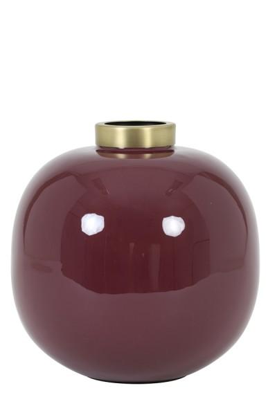 Vase Chow - Ø26x26 cm - Rose