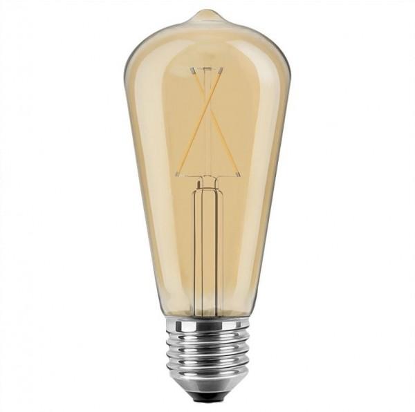 Glühbirne LED 2 Watt Filament Tröpfchen E27