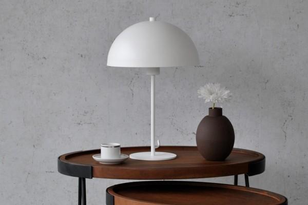 Tischlampe Merel - Weiß