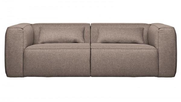 Sofa Bean 3,5-Sitzer - Stoff Taupe