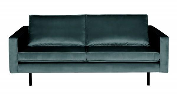 Sofa Rodeo 2,5-Sitzer - Samt Teal