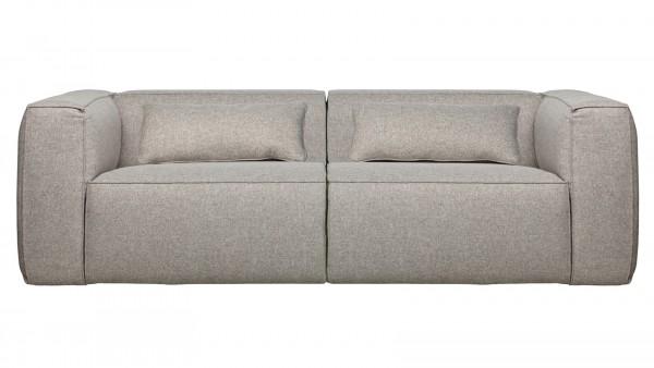 Sofa Bean 3,5-Sitzer - Stoff Light Grey