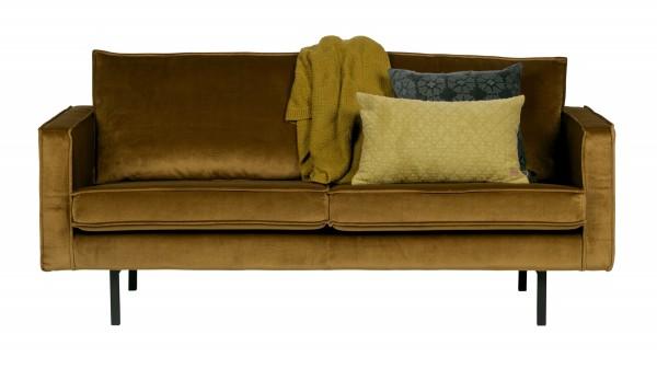 Sofa Rodeo 2,5-Sitzer - Samt Honey Yellow