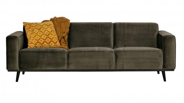 Sofa Statement 3-Sitzer - Samt Green