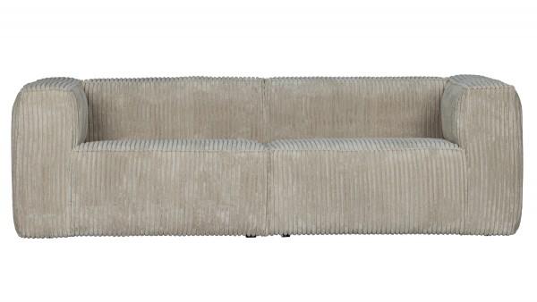 Sofa Bean 3,5-Sitzer - Ribcord Natural