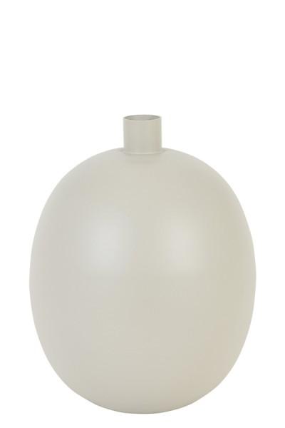 Vase Binco - Ø26x34 cm - Grau