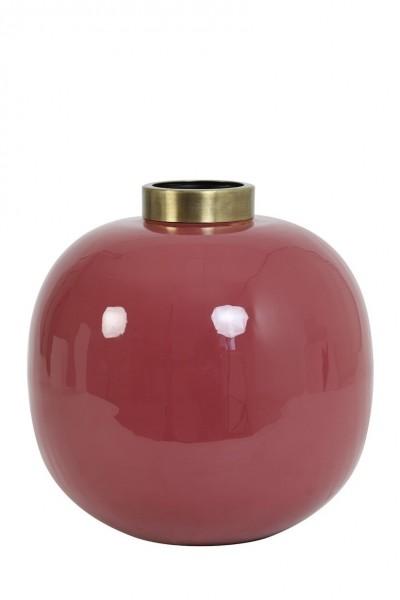 Vase Chow - Ø26x26 cm - Ziegelrot