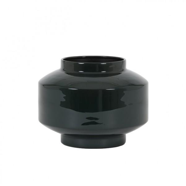 Vase Mourex - Ø24x18 cm - Dunkelgrün