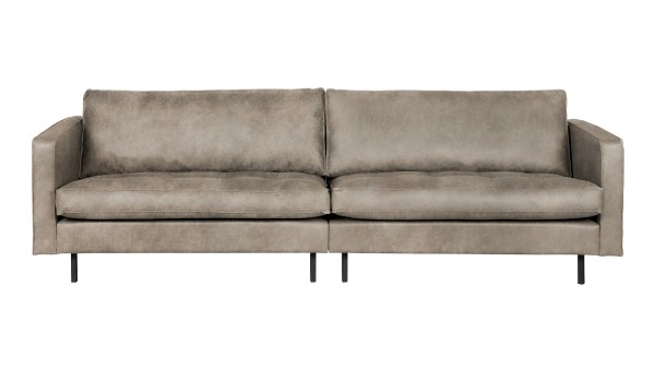 "Sofa Rodeo ""Classic"" 3-Sitzer - Kunstleder Elephant Skin"