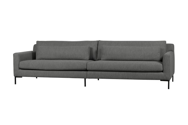 Sofa Hang Out 4 Sitzer 280 cm - Bouclé Stahlgrau