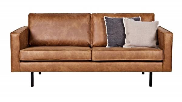 Sofa Rodeo 2,5-Sitzer - Leder Cognac