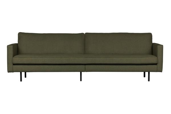 Sofa Rodeo 3-Sitzer 275 cm - 2er Optik - Stoff Tea Leave green