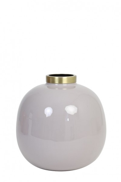 Vase Chow - Ø22x22 cm - Grau