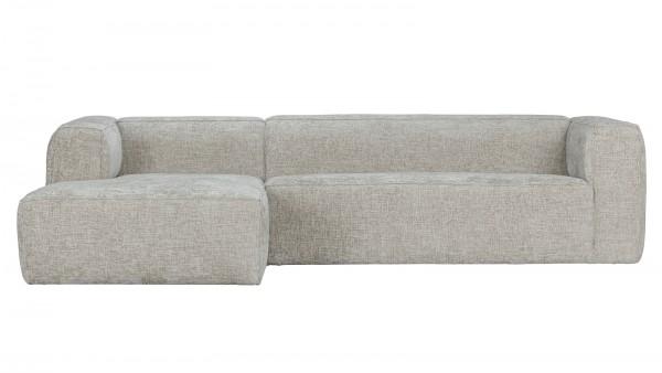 Longchair-Sofa Bean Links - Melange Natural