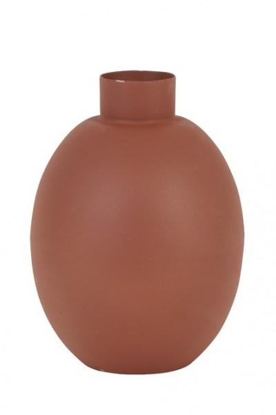 Vase Binco - Ø12x16 cm - Rot