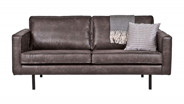 Sofa Rodeo 2,5-Sitzer - Leder Black
