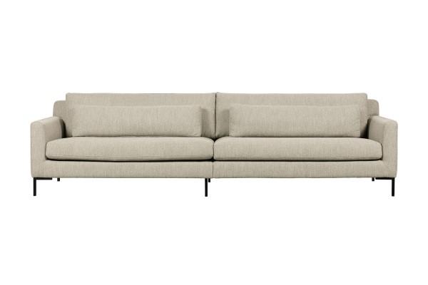 Sofa Hang out 4 Sitzer 280 cm - Stoff Bouclé Naturel