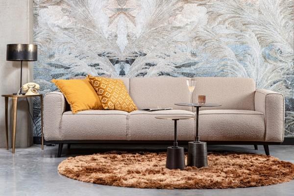 Sofa Statement 3-Sitzer 230 cm - Bouclé Beige